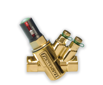 FlowCon E-JUST - FlowCon Dynamic Balancing Valve